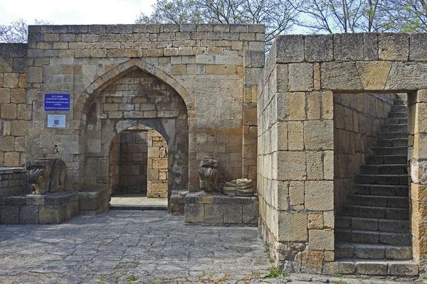 Perser und Araber herrschten Jahrhunderte lang über Derbent.