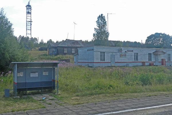 "Am Haltepunkt ""Polarkreis"" (""Poljarny Krug"")"