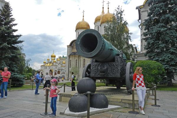 Zum Schießen nicht geeignet - die größte Kanone der Welt