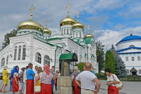 Zu Sowjetzeit zum Jugendgefängnis zweckentfremdet, hat hier heute wieder die orthodoxe Kirche das Sagen.