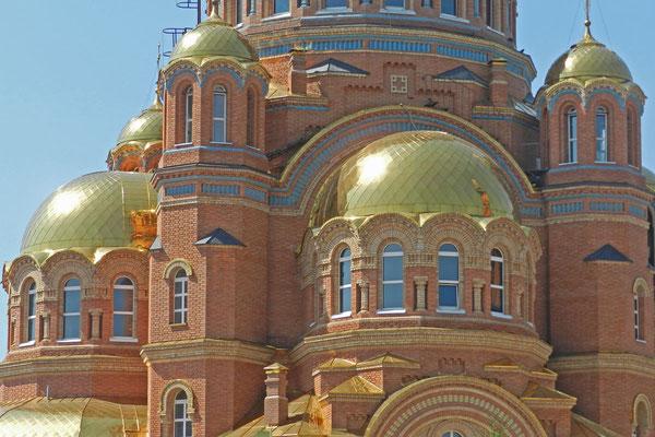 Goldene Kuppeln der Hauptkirche