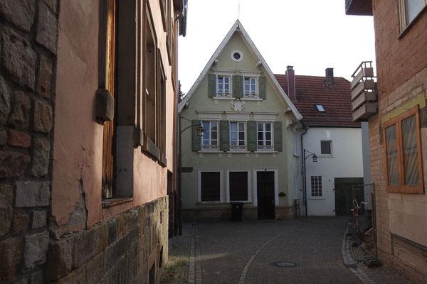Переулок в центре