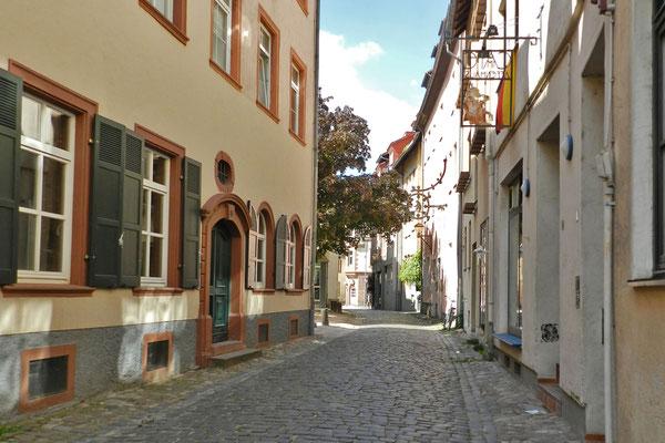 Еврейский переулок в Вормсе