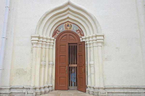 Seitenausgang der Dreifaltigkeitskirche