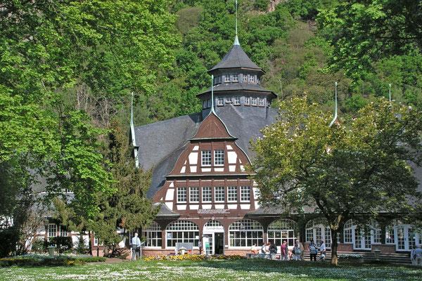 Старинный курортный зал