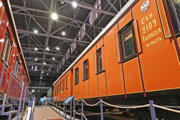 2.-Klasse-Schlafwagen der russischen Nordeisenbahn