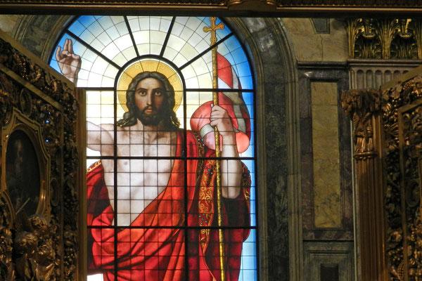 Glasfenster der Isaakskathedrale