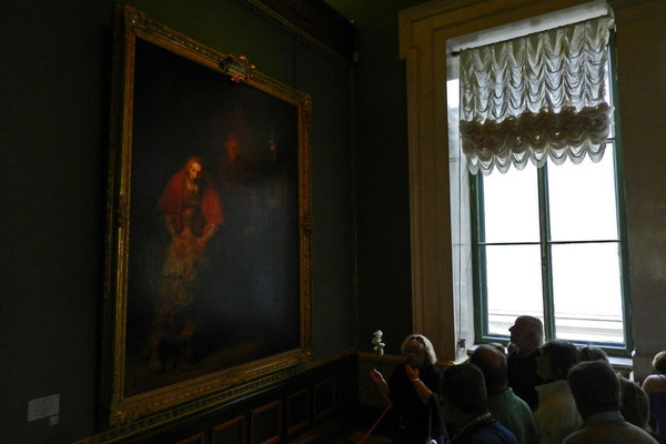 """""""Die Rückkehr des verlorenen Sohnes"""" - eines der bekanntesten Gemälde von Rembrandt van Rijn"""