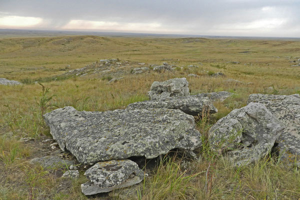"Die ""Räuberberge"" am Rand des Orenburger Reservats"