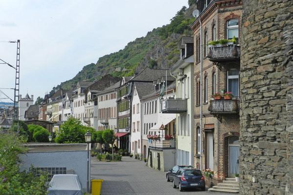 Улица в городке Кауб