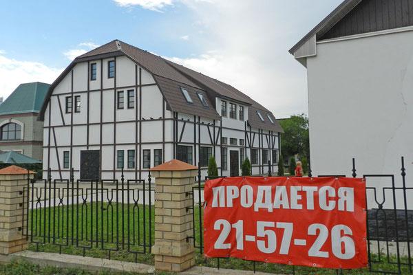 Das Restaurant der Russlanddeutschen steht leer und zum Verkauf.