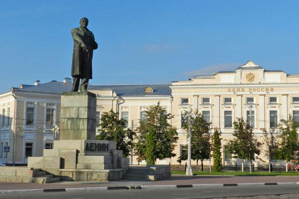 Lenin-Denkmal am Lenin-Platz