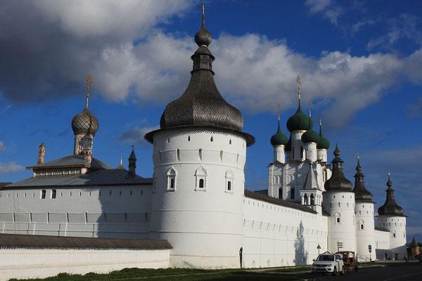 Der imposante Kreml von Rostow