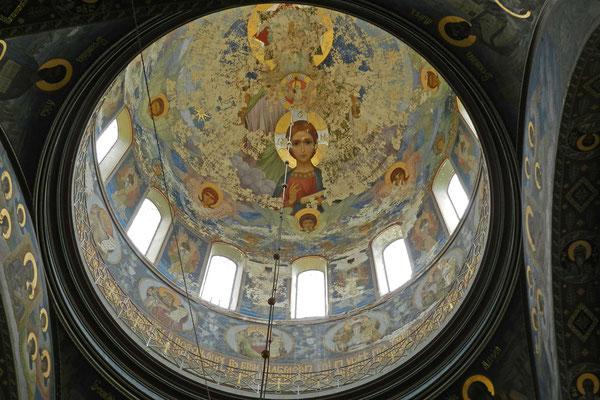 Im Kloster von Nowy Afon (Foto: Kalinin)