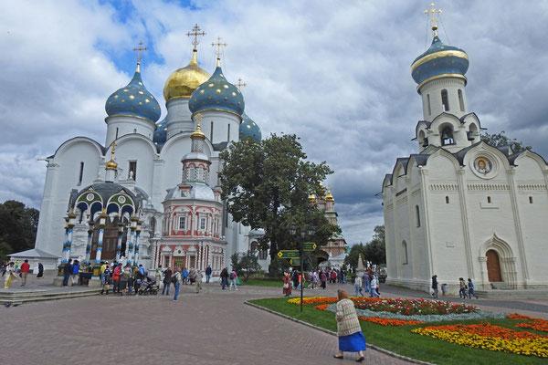 Im Kloster von Sergijew Possad