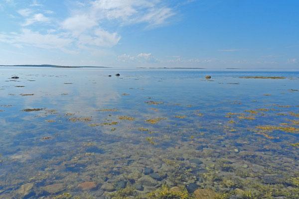 Das Weiße Meer bei Windstille