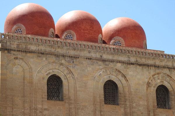 San-Cataldo-Kirche mit arabisch anmutenden Kuppeln