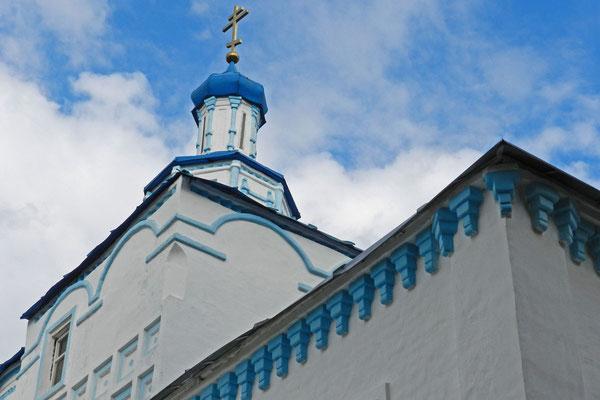 Klein, aber wunderschön: Die Sofien-Kirche von Raifa