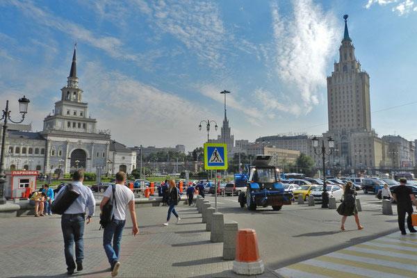 Der erste Eindruck für viele Moskau-Besucher