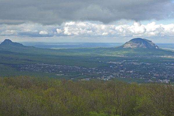 Aussicht vom Maschuk Richtung Norden