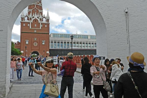 Auf dem Weg in den Kreml