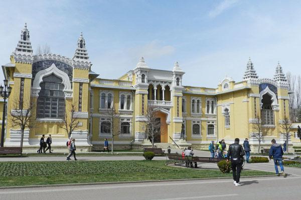 Das orientalisch anmutende Narsan-Badehaus in Kislowodsk