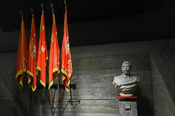 Stalin-Büste im Panorama-Museum von Wolgograd