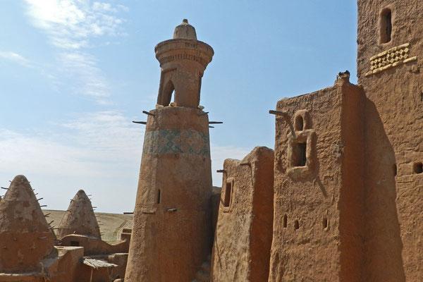 Lehmhäuser und eine Moschee - so könnte Sarai-Batu ausgesehen haben
