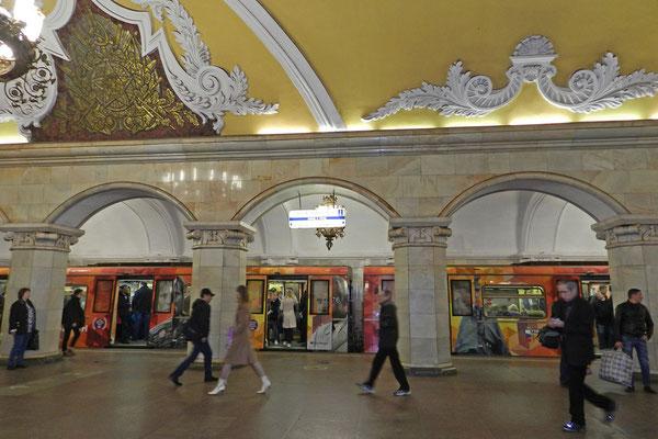 An der Ringlinie fahren die Züge nahezu im Minutentakt.