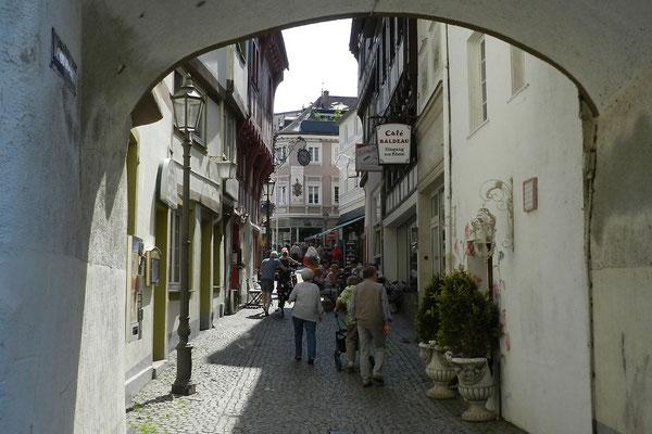 Переулок в центре города