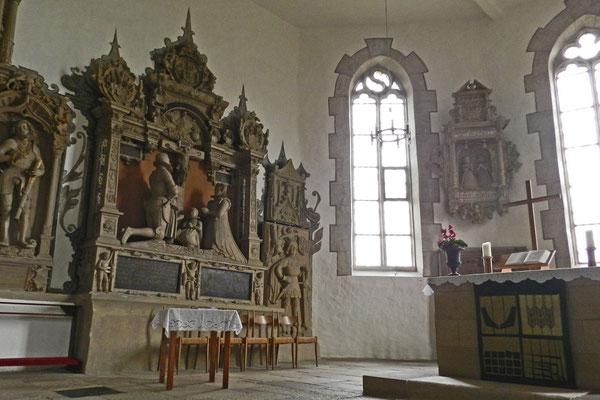 Церковь с могилами вильдграфов