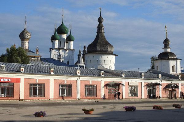 Im Zentrum von Rostow Weliki