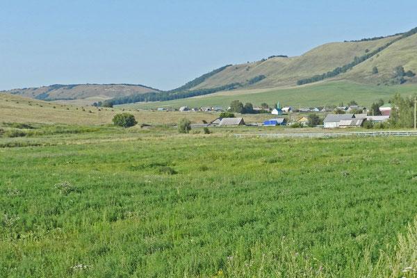 Dorf im Süden von Baschkortostan