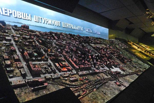 Multimedia-Darstellung der Schlacht um Stalingrad