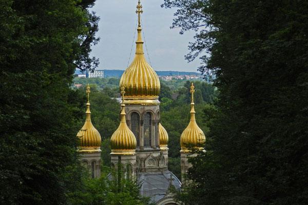 Купола русской церкви