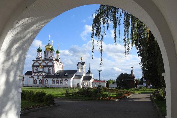 Das Varnizki-Kloster bietet auch Touristen ein Dach über dem Kopf.