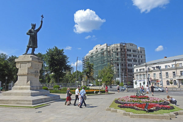 Denkmal für den moldauischen Herrscher Stefan den Großen