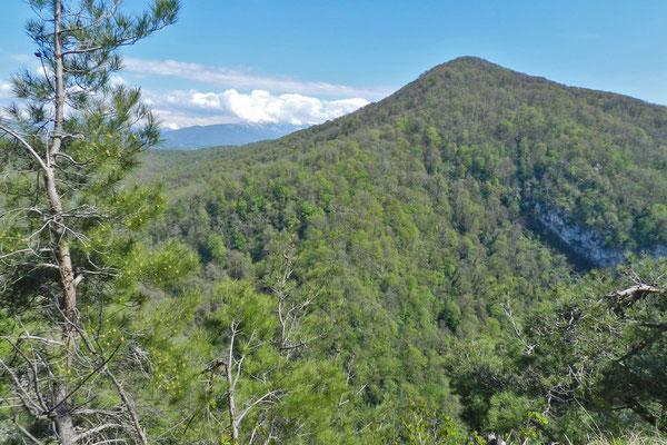 Der Achun ist der höchste Berg in unmittelbarer Nähe von Sotschi.
