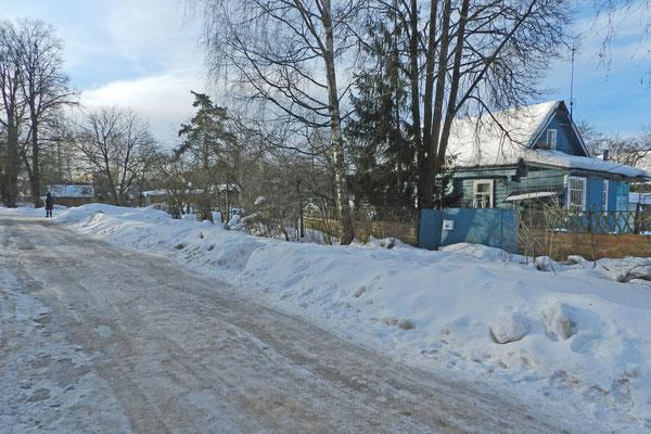 Das Moskauer Umland Ende März - ein verspätetes Wintermärchen