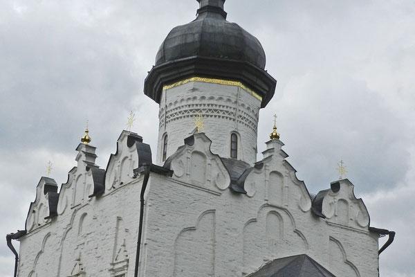 Die Kathedrale entstand im nordwestrussischen Stil.