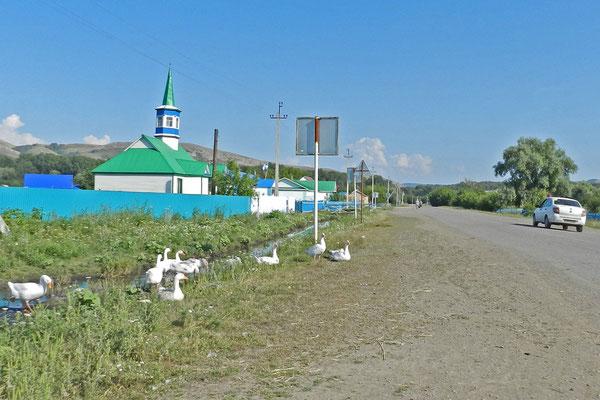 Moschee in Taslarowo, Republik  Baschkortostan