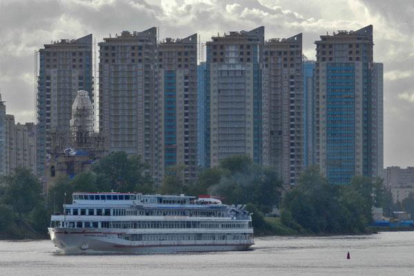 Petersburger Trabantenstadt an der Newa
