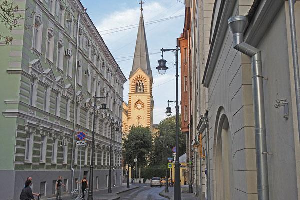 Moskaus evangelische Peter-Paul-Kathedrale