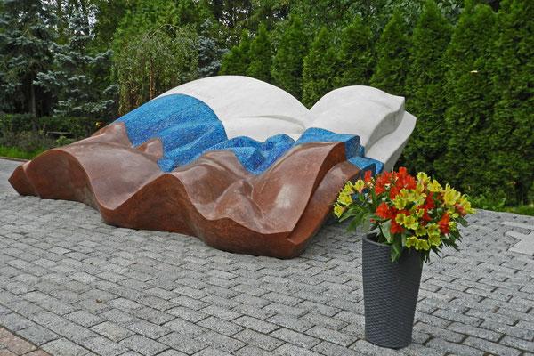 Neujungfrauenfriedhof: Grabmal von Boris Jelzin