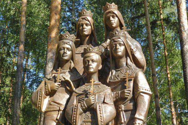 Ganina Jama bei Jekaterinburg wurde zu einer Pilgerstätte für Anhänger der Monarchie.