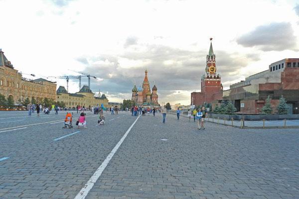 Weltberühmtes Pflaster - Moskaus Roter Platz