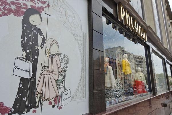 Islamische Mode in Machatschkala