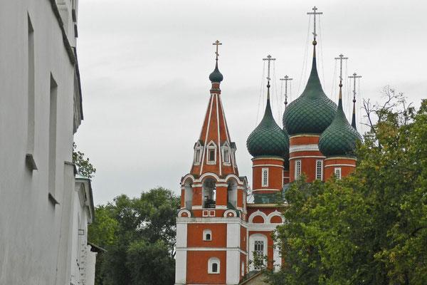 Orthodoxe Kirche in Jaroslawl an der Wolga