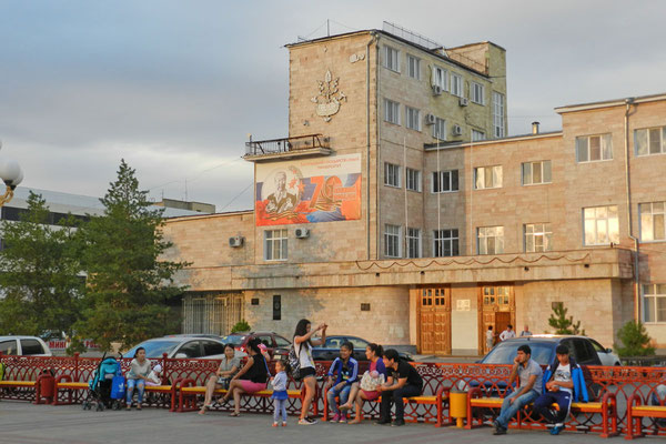 Die kalmückische Universität in Elista