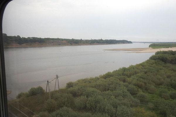 An der Brücke über die Nördliche Dwina